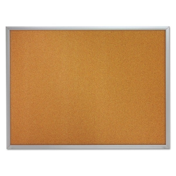 Quartet Aluminium Frame Bulletin Board with Bracket