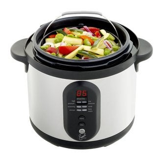 Emeril by T-Fal Stainless Steel 6-quart Electric Pressure Cooker