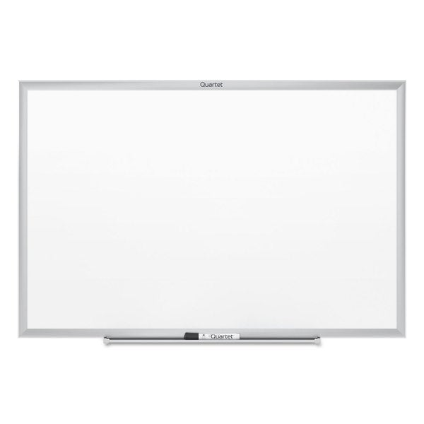 3' x 2' Aluminum Frame Dry-erase Whiteboard with Full-length Marker Tray