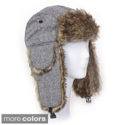 Solegear Women's Herringbone Winter Trapper Hat