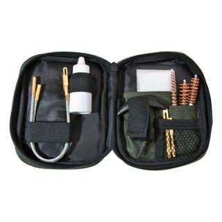 Barska Pistol Cleaning Kit with Flexible Rod and Pouch