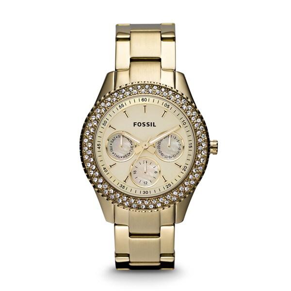 Fossil's Women's ES3101 Stella Goldtone Watch