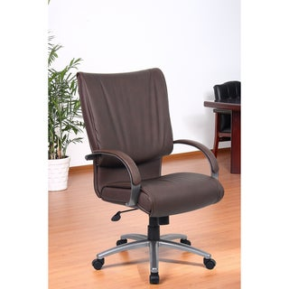 Aragon Bomber Brown High Back Executive Chair