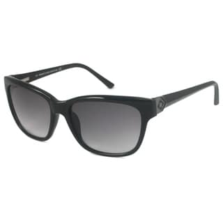 Kenneth Cole Reaction KC2417 Women's Black/Gray-Gradient Rectangular Sunglasses