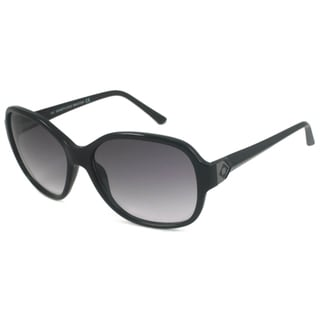 Kenneth Cole Reaction KC2418 Women's Black/Gray Rectangular Sunglasses
