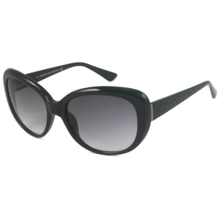 Black Kenneth Cole Reaction KC2419 Women's Cat-Eye Sunglasses