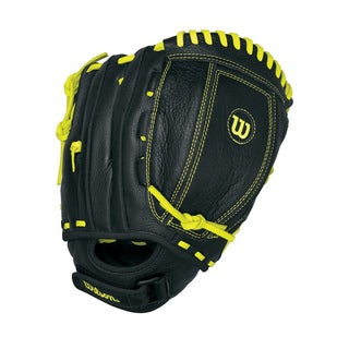 "Wilson Game Soft A500 Gaming Gloves 11"" Black/yellow"