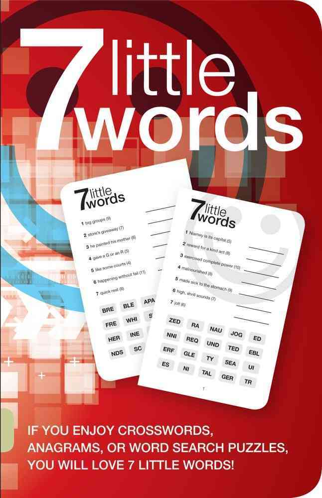 7 Little Words 1: 100 Puzzles (Paperback)