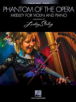 Phantom of the Opera: Medley for Violin and Piano (Paperback)