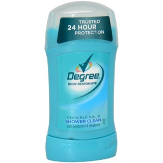Degree Shower Clean Body Responsive Invisible Solid Anti-Perspirant & Deodorant