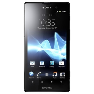 Sony Mobile XPERIA ion Smartphone - Wireless LAN - 4G - Bar - Black