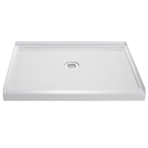 DreamLine SlimLine 32 x 32-inch Single Threshold Shower Base