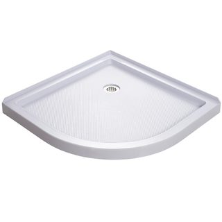 DreamLine 33 x 33 SlimLine Quarter Round Shower Base