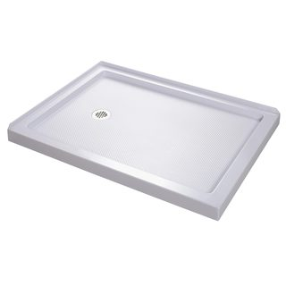 DreamLine 48 x 34 SlimLine Double Threshold Shower Base