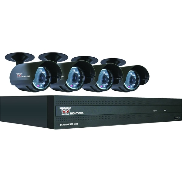 Night Owl 4 Channel H.264 DVR with 500GB Pre-Installed Hard Drive