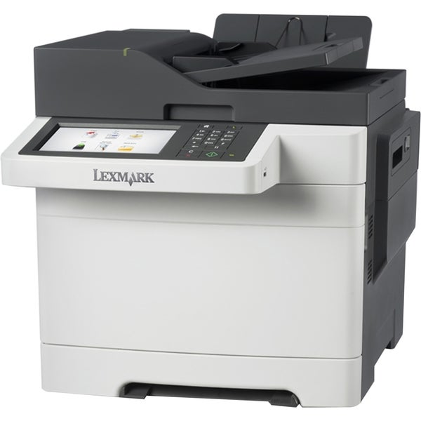 Lexmark CX510DHE Laser Multifunction Printer - Color - Plain Paper Pr