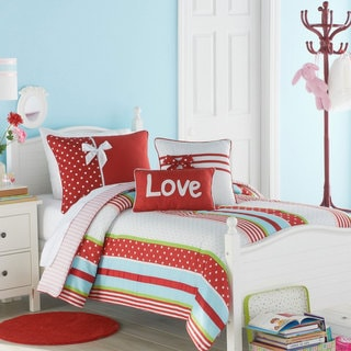 Big Believers American Sweetheart 3-piece Comforter Set