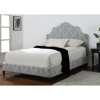 Ikat Damask Queen Bed