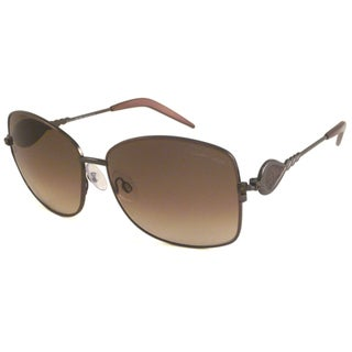 Roberto Cavalli Women's RC582 Vischio Rectangular Sunglasses