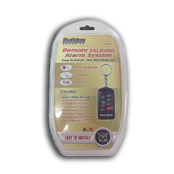 Bulldog Secuity Remote Talking Alarm System