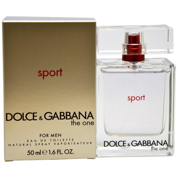 Dolce & Gabbana The One Sport Men's 1.6-ounce Eau de Toilette Spray