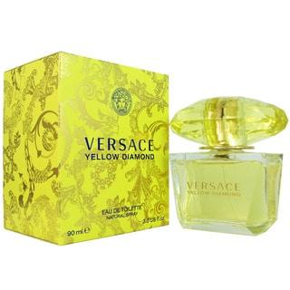 "Versace ""Yellow Diamond"" - Eau de Toilette de mujer, en spray, 3 oz"