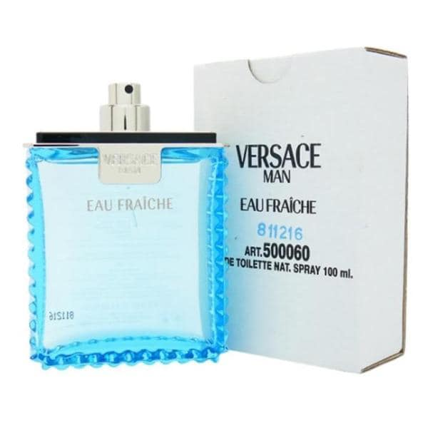 Versace Man Eau Fraiche Men's 3.4-ounce Eau de Toilette Spray (Tester)