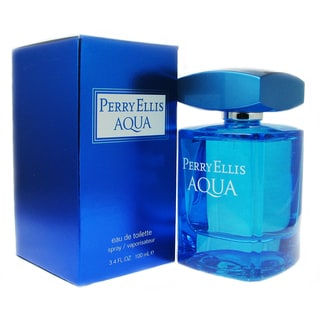Perry Ellis Aqua Men's 3.4-ounce Eau de Toilette Spray
