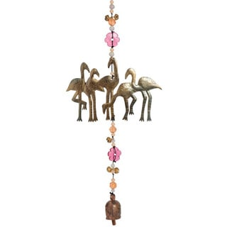 Flamingos on Parade Wind Chime (India)