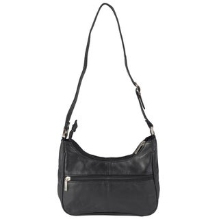 Journee Collection Women's Multi-pocket Leather Shoulder Satchel