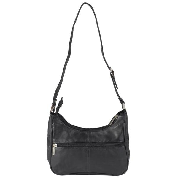 Journee Collection Women's Multi-pocket Leather Shoulder Satchel