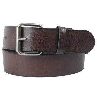 Journee Collection Women's Oil-Tanned Genuine Leather Belt