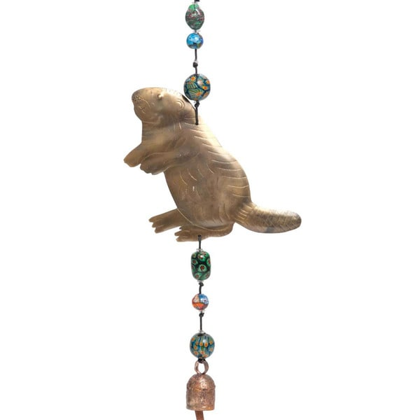 Bucky The Beaver Wind Chime (India)