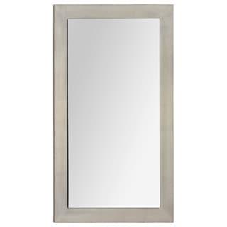 'Francine' Silver Wood Mirror