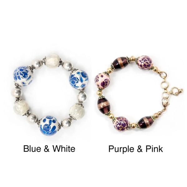 Rose Bead Bracelet (India)
