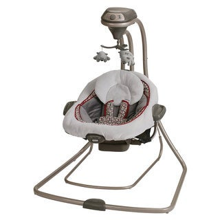 Graco DuetConnect LX Swing and Bouncer in Finley