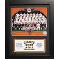 San Francisco Giants 2012 World Series Champions 11x14 Deluxe Stat Frame