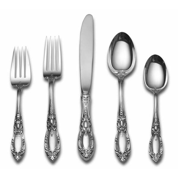 Gorham Strasbourg 66-piece Sterling Silver Flatware Set