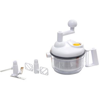 KitchenWorthy Manual Food Processor