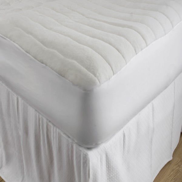 Comfort Channel Quilted Mattress Pad