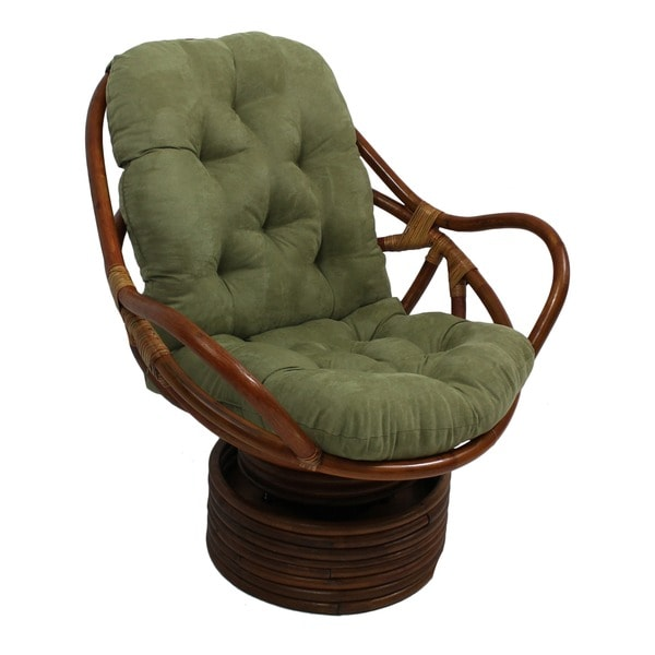 International Caravan International Caravan Microsuede Cushion Rocker