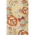 Hand-hooked Esto Indoor/Outdoor BoGoldical Rug