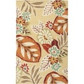 Hand-hooked Esto Indoor/Outdoor Botanical Rug