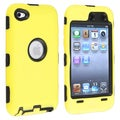 BasAcc Black/ Yellow Hybrid Case for Apple� iPod touch Generation 4