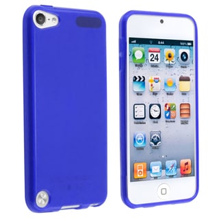 BasAcc Blue TPU Rubber Skin Case for Apple� iPod touch Generation 5
