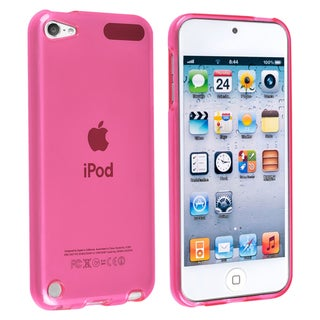 BasAcc Pink TPU Rubber Skin Case for Apple� iPod touch Generation 5