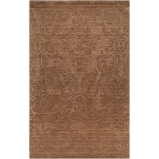 Hand-crafted Solid Casual Douglas Wool Rug