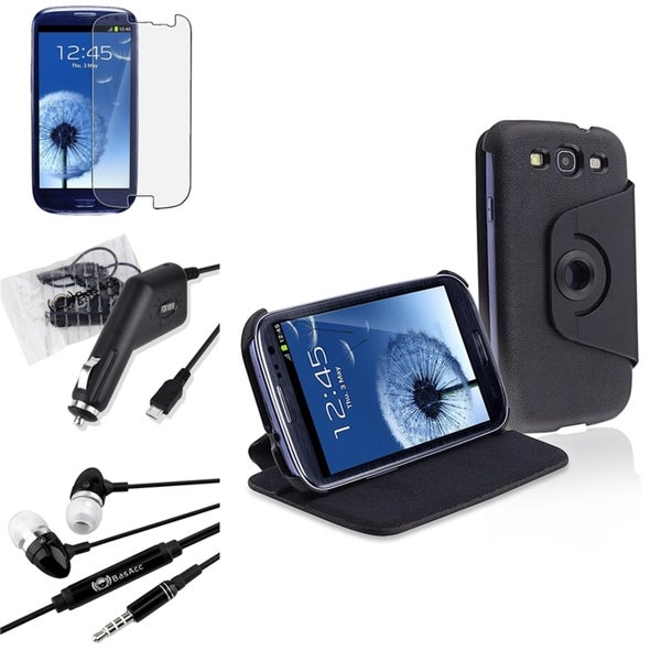 BasAcc Case/ Screen Protector/ Headset for Samsung© Galaxy S3