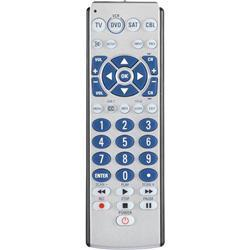 Zenith 4-Device Big Button Universal Remote