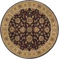 Hand-tufted Casa Plum Wool Rug (4&#39; Round)